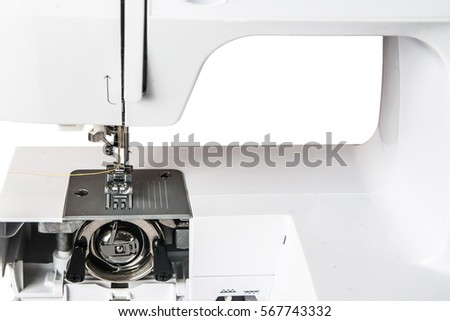 Closeup Detail Mechanism Sewing Machine Vertical Stock Photo Edit Classy What Is A Vertical Sewing Machine