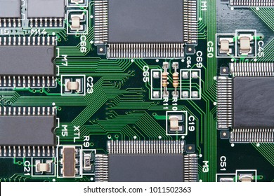 Similar Images, Stock Photos & Vectors of Motherboard Top View