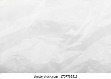 Close-Up Of Empty Plastic Bag Background
