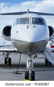 Closeup of Executive Jet