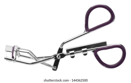 Close-up of an eyelash curler