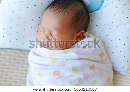 Something asian baby blanket