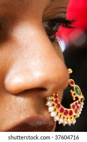 Indian Nose Images, Stock Photos & Vectors | Shutterstock