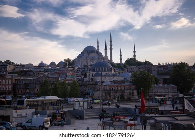 close-up for Fatih mosque in istanbul 2020  - Shutterstock ID 1824791264