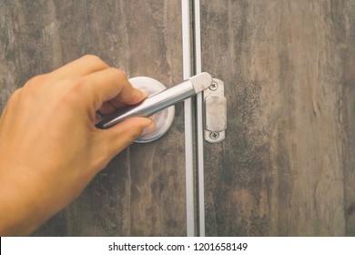 Sensational Toilet Door Lock Images Stock Photos Vectors Shutterstock Interior Design Ideas Gentotryabchikinfo