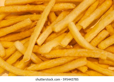 Closeup to French Fried, High Calories Junk Food, Background