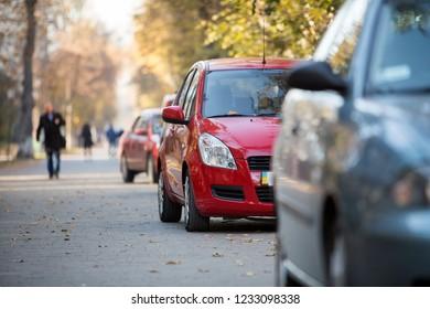 Pavement Parking Images, Stock Photos & Vectors | Shutterstock