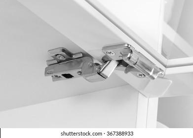 Cabinet Hinges Images, Stock Photos & Vectors | Shutterstock