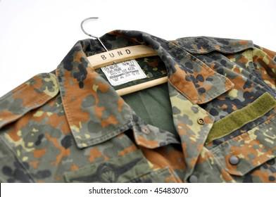 Close-up of german uniform.