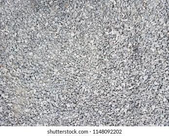 Closeup gravel stones texture