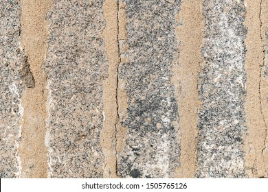 Closeup of grey granite texture background.