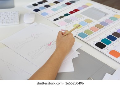 Fashion Hand Sketch Stock Photos Images Photography Shutterstock