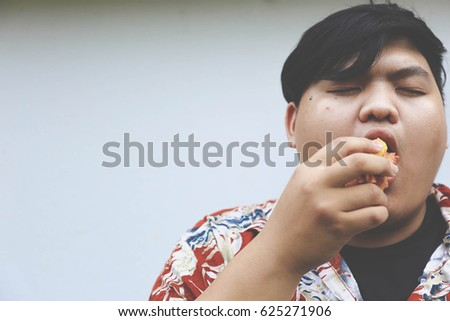 fat asian face