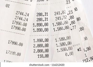 closeup of high bills fan background macro
