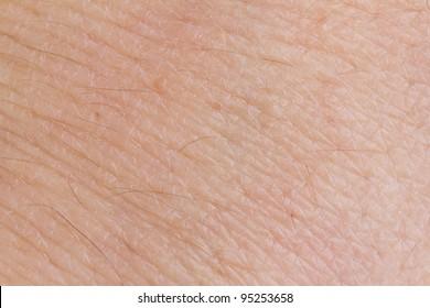 Close-up human skin