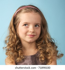 Curly Hair Kid Images Stock Photos Vectors Shutterstock