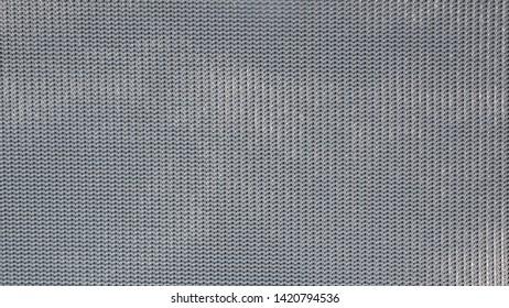 Close-up image of nylon fabric pattern