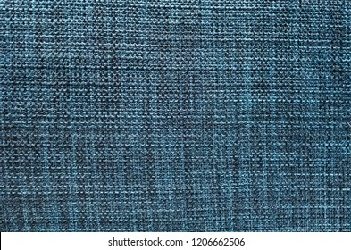 closeup image of wool texture background in blue color