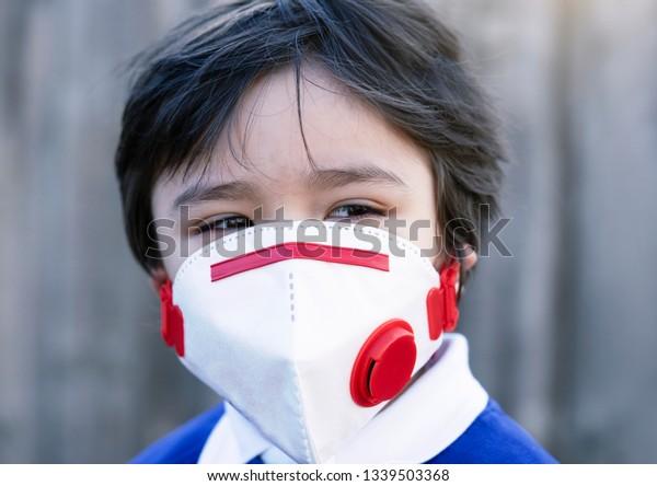 kid mask virus