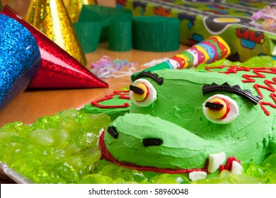 Awesome Party Alligator Stock Photos Images Photography Shutterstock Funny Birthday Cards Online Alyptdamsfinfo