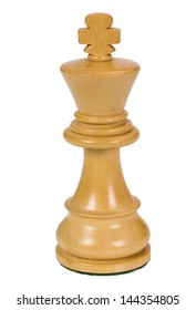 Close-up of a king chess piece