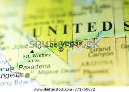 Closeup Las Vegas Nevada On Political Stock Photo Edit Now