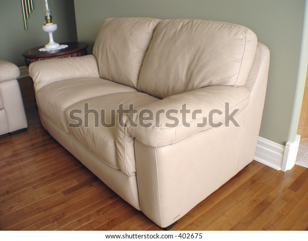 Closeup of Livingroom couch