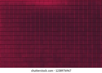 Close-up of a Magenta colored metalic Background or Texture.