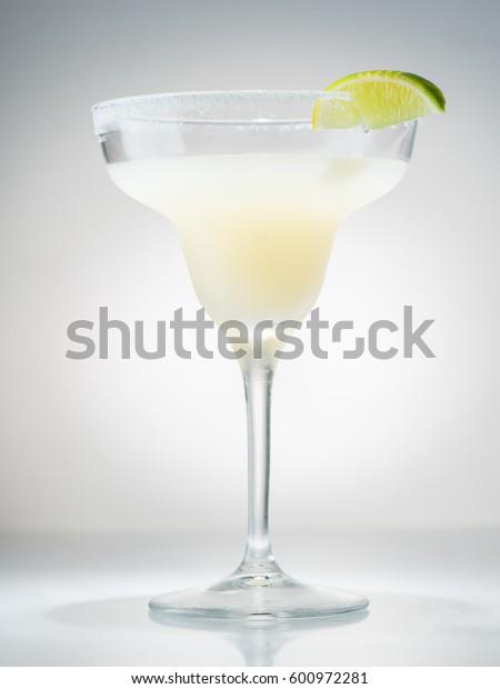 closeup of Margarita cocktail