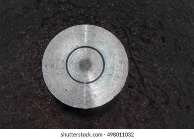 closeup metal wheels for welding of different thickness and diameter