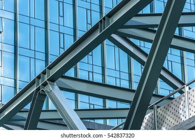 Close-Up Of Modern Office Buildings,Shenzhen,China.