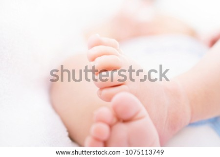 closeup newborn baby feet template baby stock photo edit now