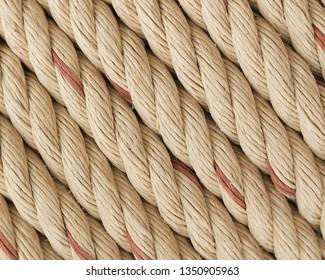 Closeup of Nylon Rope.Nylon Rope Background