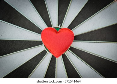 Heart bullseye images stock photos vectors 10 off shutterstock closeup of old black and white target with red heart symbol bullseye as love background thecheapjerseys Images