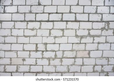 Closeup of old brick wall