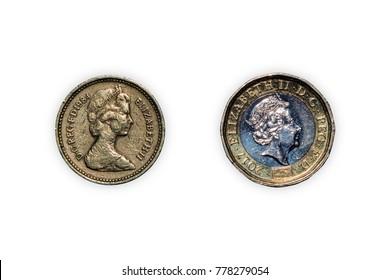 Queen Elizabeth Coin Images, Stock Photos & Vectors