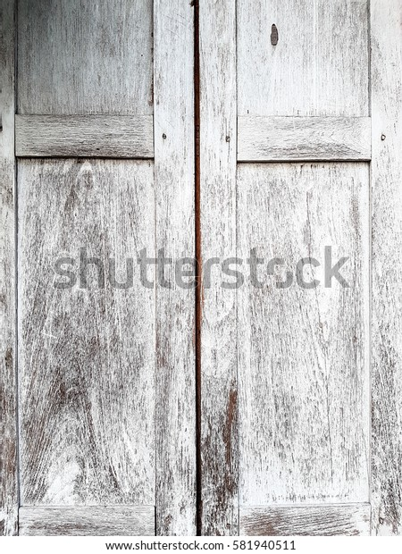 Closeup of Old wooden window background.