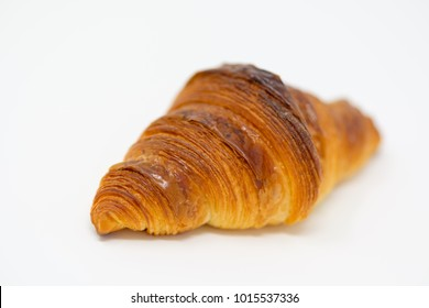Close-up on a perfect croissant.