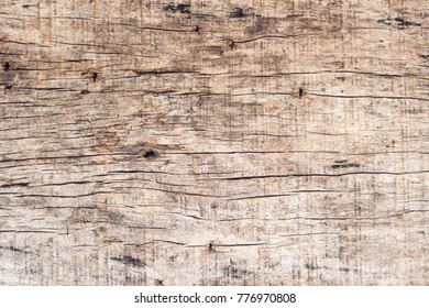Closeup pattern of old wood wooden hardwood vintage table furniture texture abstract background.