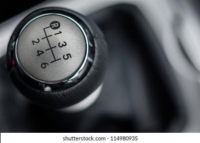 Closeup photo of car interiors in bright light