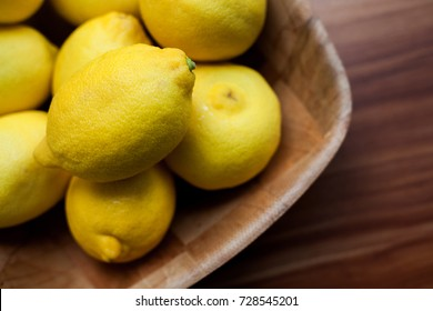 closeup photo of ripe yellow lemons