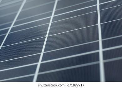 closeup photo of a solar panel