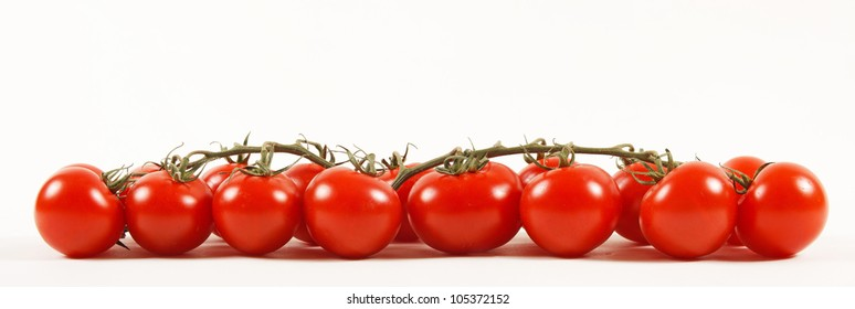 Close-up photo of tomatoes. Large size