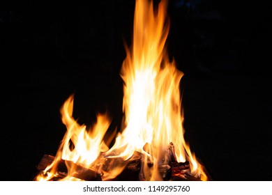 Closeup photography of flames