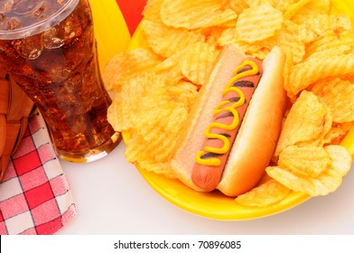 Hot Dog Chips Images Stock Photos Vectors Shutterstock
