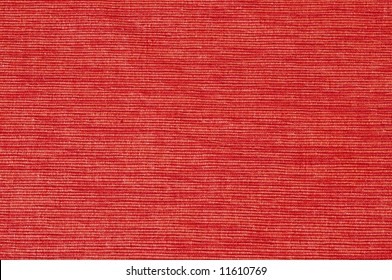 close-up picture of bright orange velvet (background, texture)