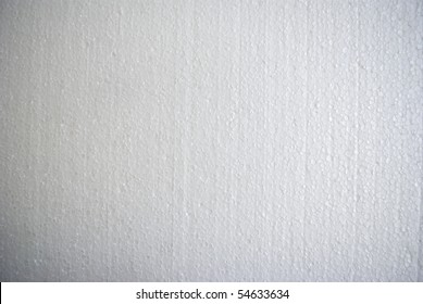 The close-up of a porous white surface