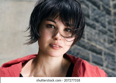 Royalty Free Pixie Haircut Images Stock Photos Vectors Shutterstock