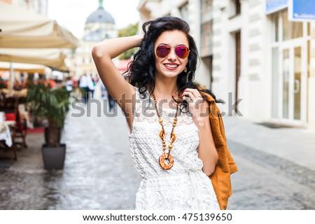 a2d97c00fa5 Closeup Portrait Confident Free Amazing Lady Stock Photo (Edit Now ...