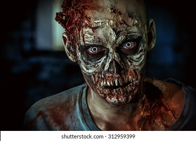 Zombie Face Images Stock Photos Amp Vectors Shutterstock
